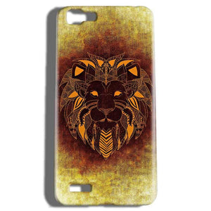 Vivo V1 Mobile Covers Cases Lion face art - Lowest Price - Paybydaddy.com