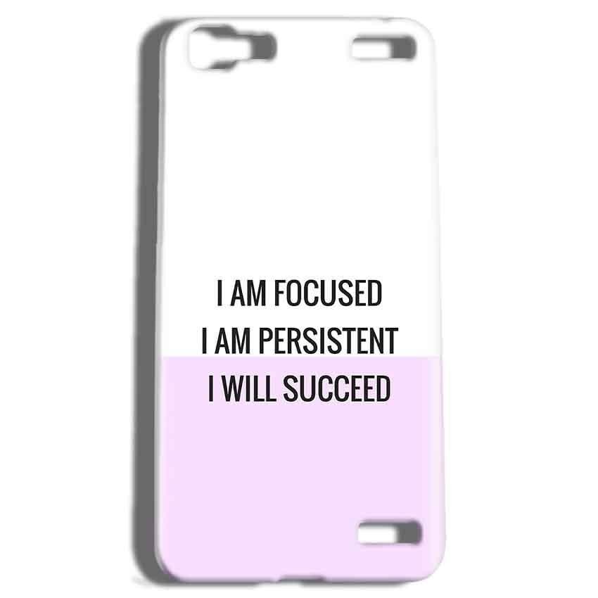 Vivo V1 Max Mobile Covers Cases I am Focused - Lowest Price - Paybydaddy.com