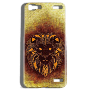 Vivo V1 Max Mobile Covers Cases Lion face art - Lowest Price - Paybydaddy.com