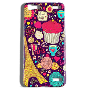 Vivo V1 Max Mobile Covers Cases Paris Sweet love - Lowest Price - Paybydaddy.com