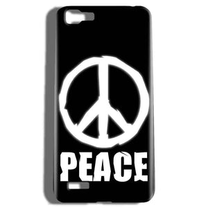 Vivo V1 Mobile Covers Cases Peace Sign In White - Lowest Price - Paybydaddy.com
