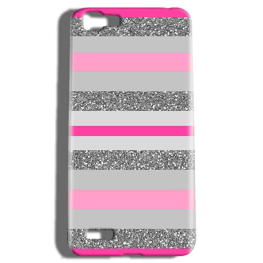 Vivo V1 Mobile Covers Cases Pink colour pattern - Lowest Price - Paybydaddy.com
