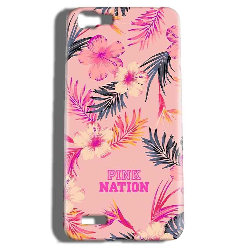 Vivo V1 Mobile Covers Cases Pink nation - Lowest Price - Paybydaddy.com