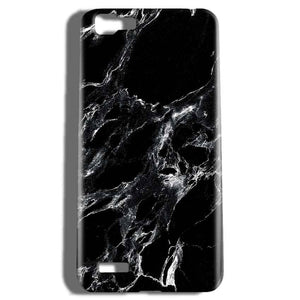 Vivo V1 Mobile Covers Cases Pure Black Marble Texture - Lowest Price - Paybydaddy.com