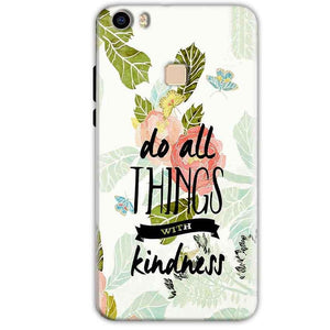 Vivo V3 Mobile Covers Cases Do all things with kindness - Lowest Price - Paybydaddy.com