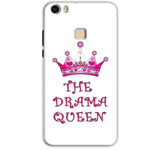 Vivo V3 Mobile Covers Cases Drama Queen - Lowest Price - Paybydaddy.com