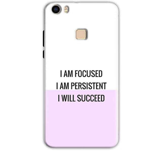 Vivo V3 Mobile Covers Cases I am Focused - Lowest Price - Paybydaddy.com