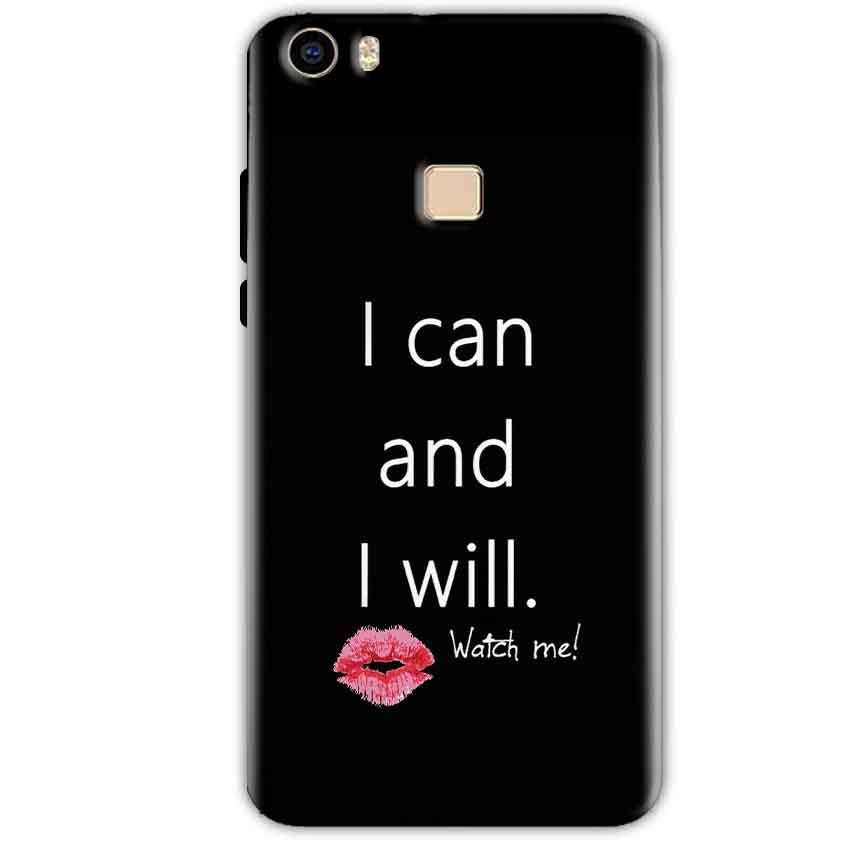 Vivo V3 Mobile Covers Cases i can and i will Lips - Lowest Price - Paybydaddy.com