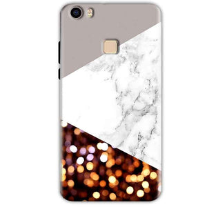Vivo V3 Mobile Covers Cases MARBEL GLITTER - Lowest Price - Paybydaddy.com