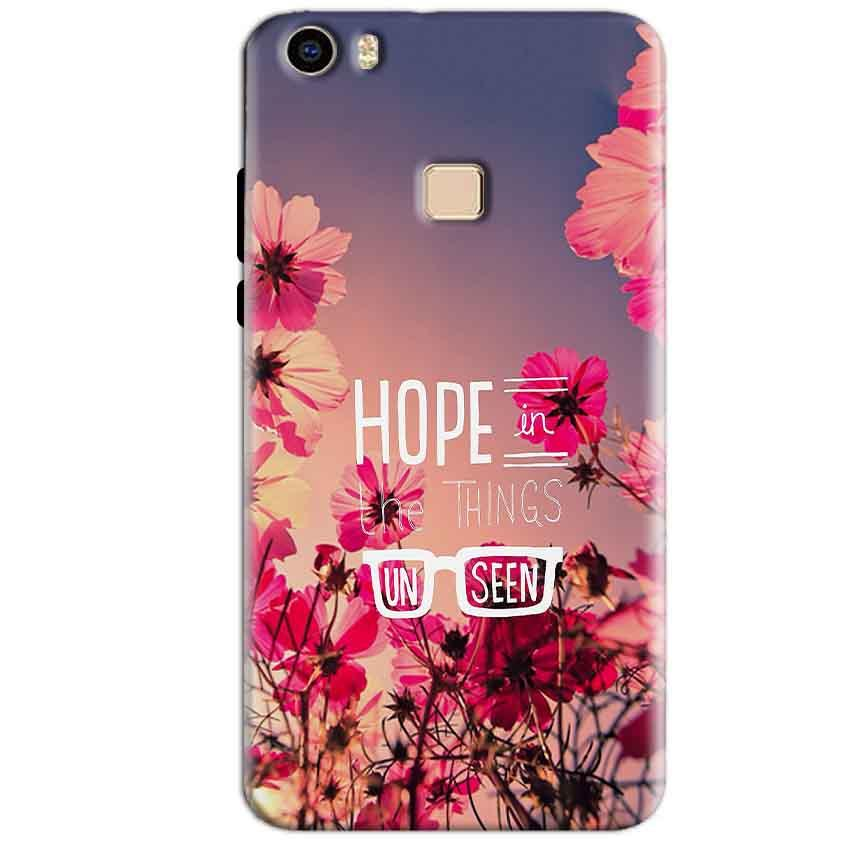 Vivo V3 Max Mobile Covers Cases Hope in the Things Unseen- Lowest Price - Paybydaddy.com