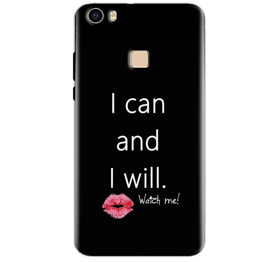 Vivo V3 Max Mobile Covers Cases i can and i will Lips - Lowest Price - Paybydaddy.com
