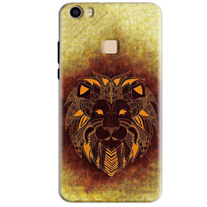 Vivo V3 Max Mobile Covers Cases Lion face art - Lowest Price - Paybydaddy.com