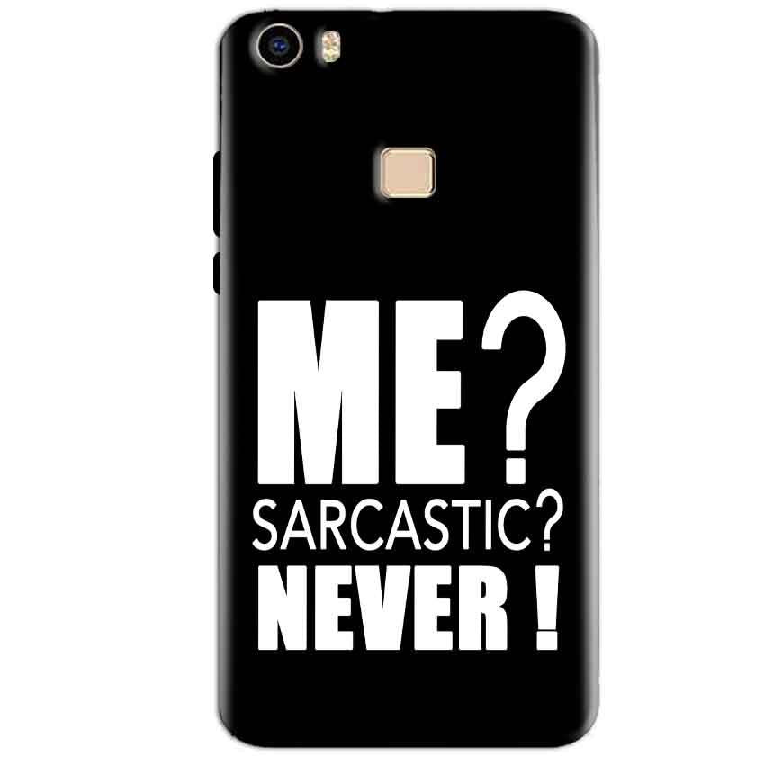 Vivo V3 Max Mobile Covers Cases Me sarcastic - Lowest Price - Paybydaddy.com