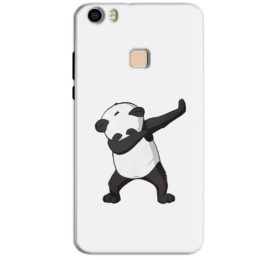 Vivo V3 Max Mobile Covers Cases Panda Dab - Lowest Price - Paybydaddy.com