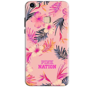 Vivo V3 Max Mobile Covers Cases Pink nation - Lowest Price - Paybydaddy.com