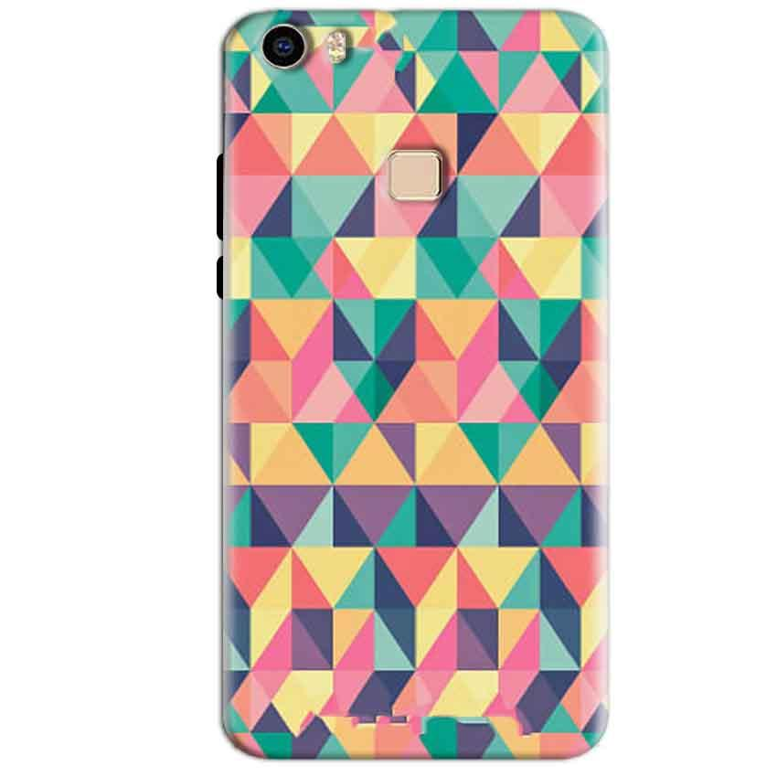Vivo V3 Max Mobile Covers Cases Prisma coloured design - Lowest Price - Paybydaddy.com