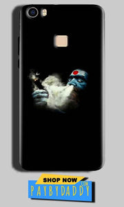 Vivo V3 Max Mobile Covers Cases Shiva Aghori Smoking - Lowest Price - Paybydaddy.com