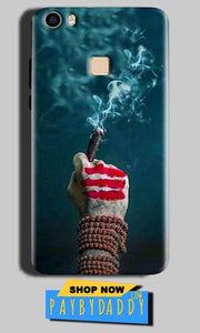 Vivo V3 Max Mobile Covers Cases Shiva Hand With Clilam - Lowest Price - Paybydaddy.com