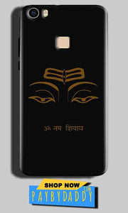 Vivo V3 Mobile Covers Cases Om Namaha Gold Black - Lowest Price - Paybydaddy.com