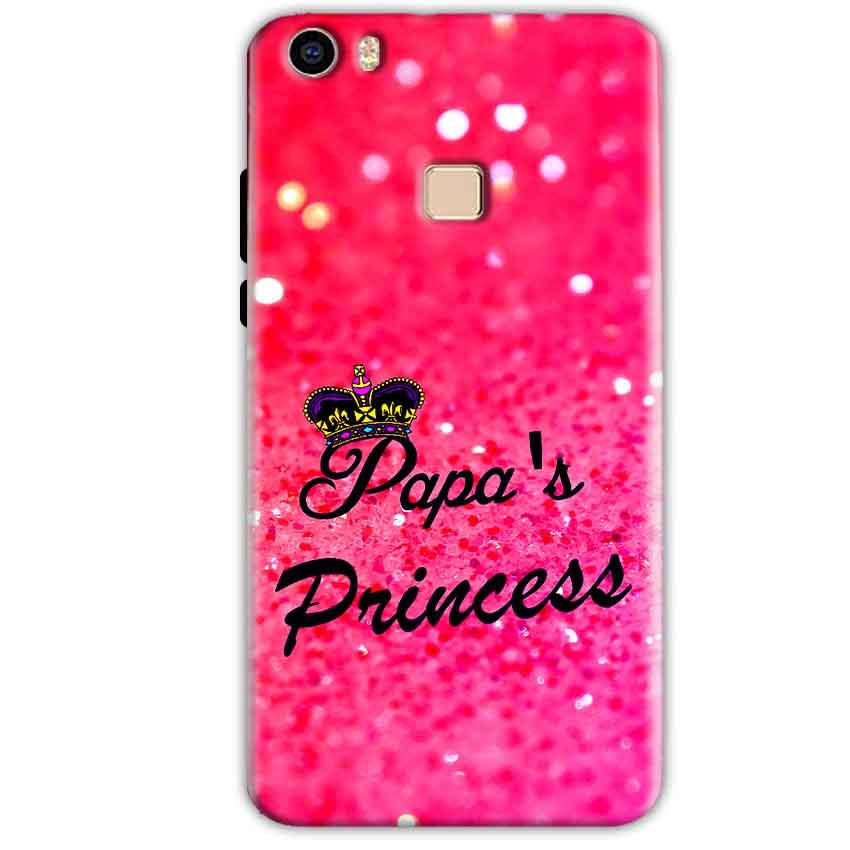 Vivo V3 Mobile Covers Cases PAPA PRINCESS - Lowest Price - Paybydaddy.com