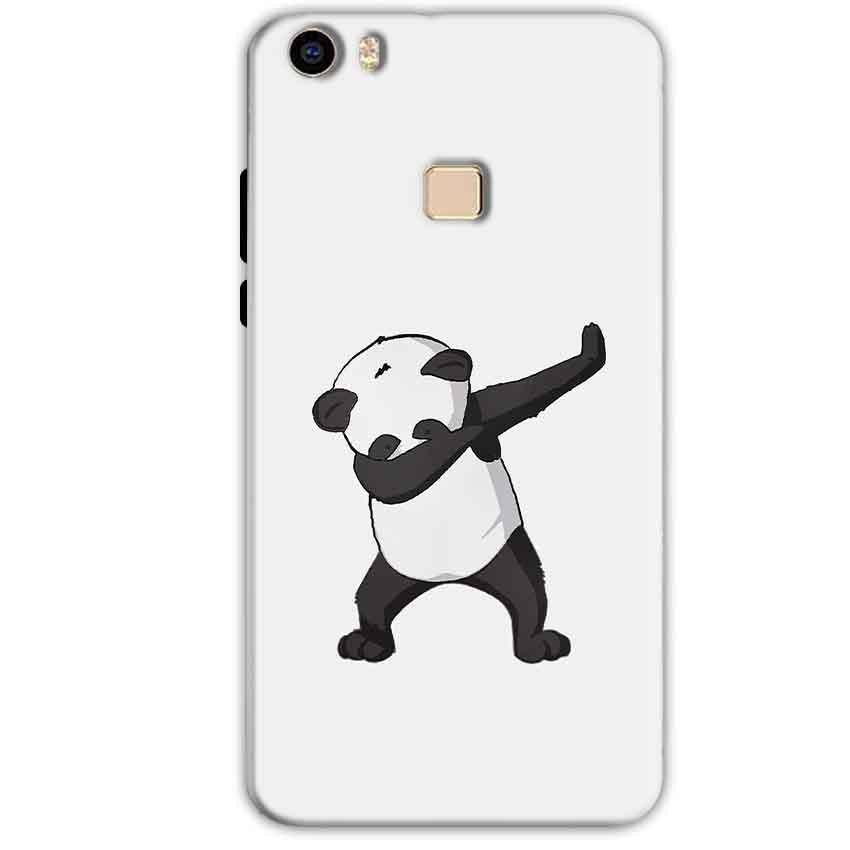 Vivo V3 Mobile Covers Cases Panda Dab - Lowest Price - Paybydaddy.com