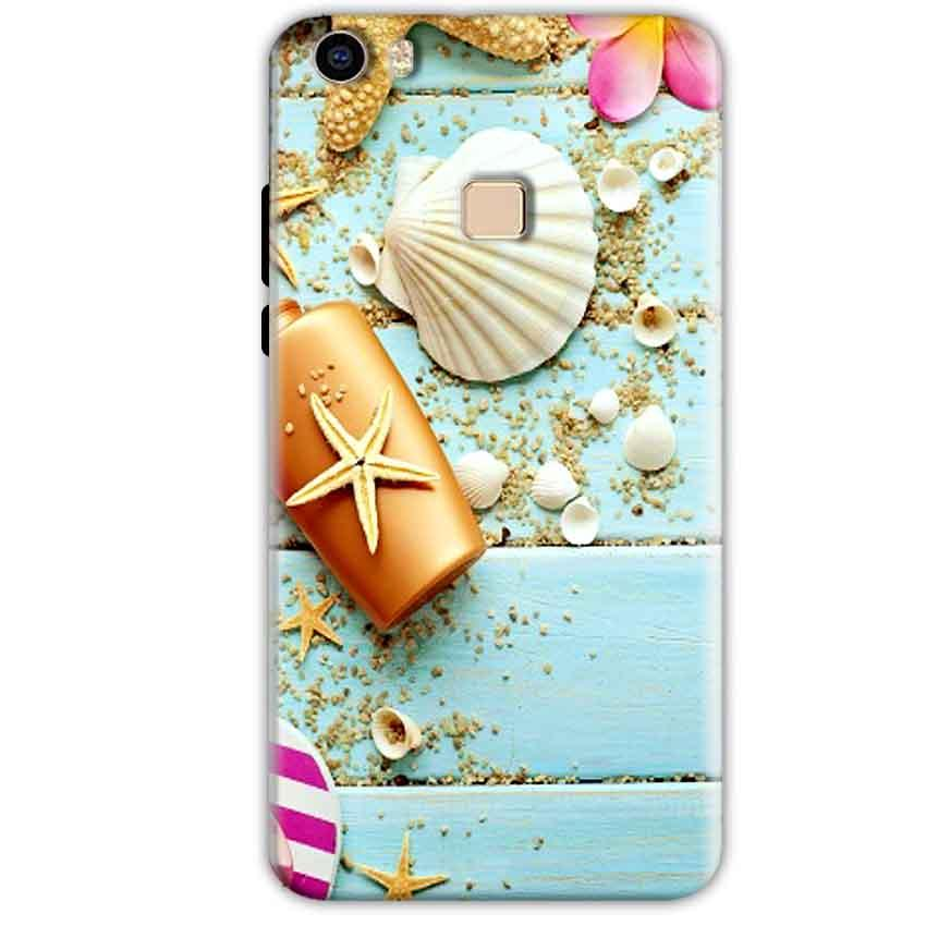 Vivo V3 Mobile Covers Cases Pearl Star Fish - Lowest Price - Paybydaddy.com