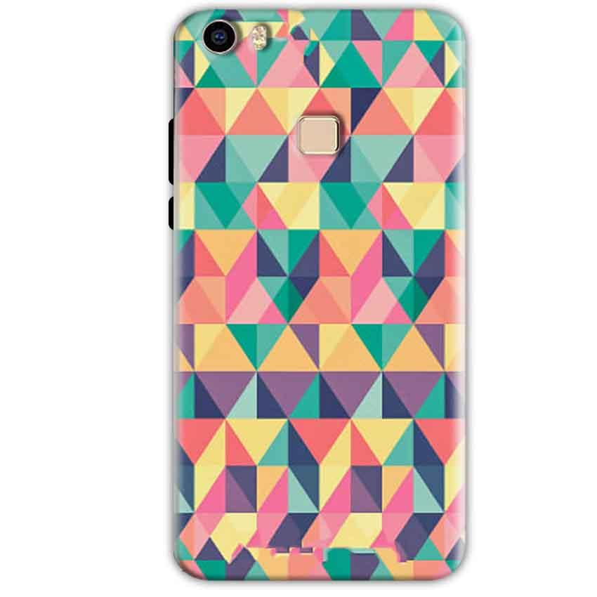 Vivo V3 Mobile Covers Cases Prisma coloured design - Lowest Price - Paybydaddy.com