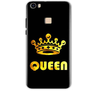 Vivo V3 Mobile Covers Cases Queen With Crown in gold - Lowest Price - Paybydaddy.com