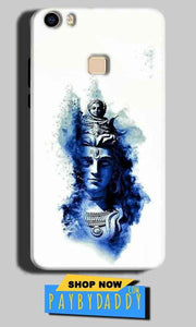 Vivo V3 Mobile Covers Cases Shiva Blue White - Lowest Price - Paybydaddy.com