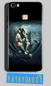 Vivo V3 Mobile Covers Cases Shiva Smoking - Lowest Price - Paybydaddy.com