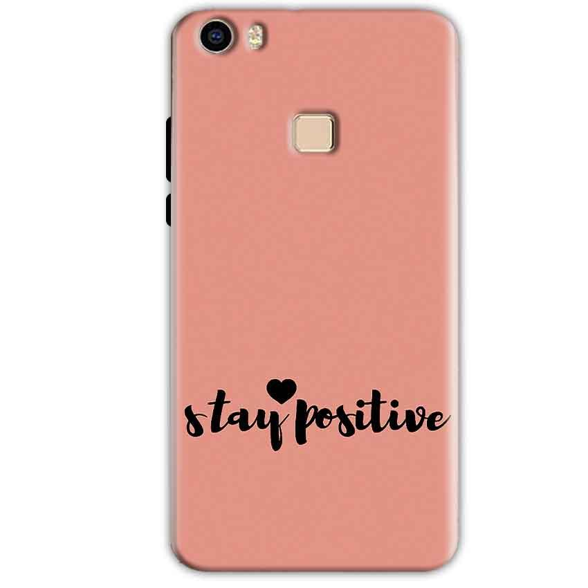 Vivo V3 Mobile Covers Cases Stay Positive - Lowest Price - Paybydaddy.com