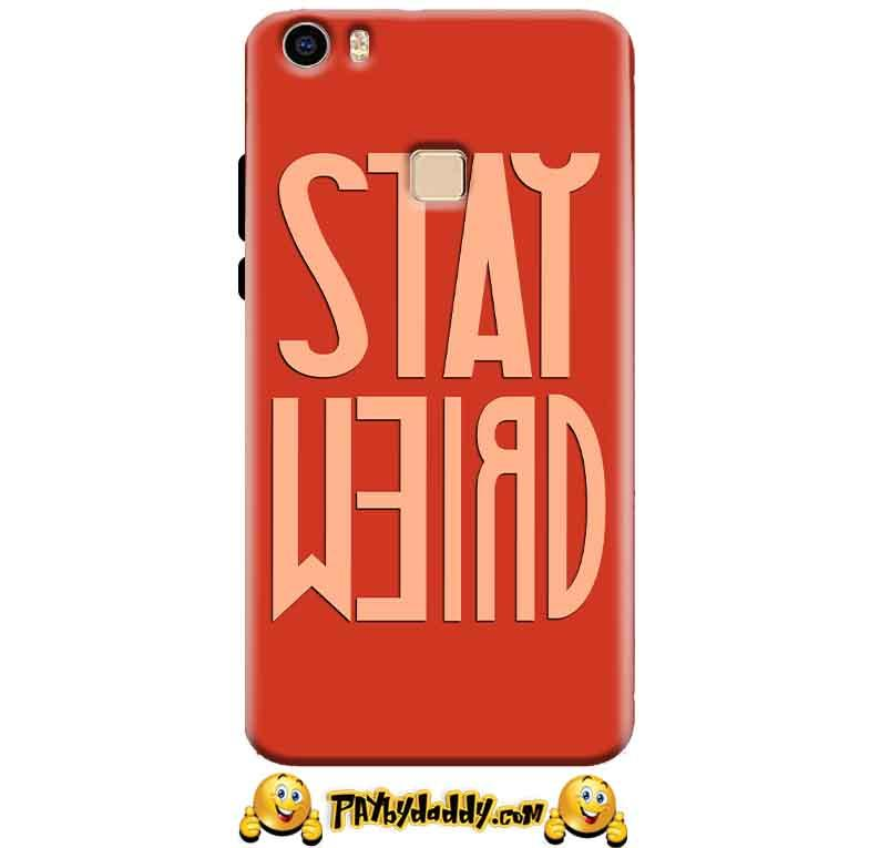 Vivo V3 Mobile Covers Cases Stay Weird - Lowest Price - Paybydaddy.com