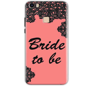 Vivo V3 Mobile Covers Cases Mobile Covers Cases bride to be with ring Black Pink - Lowest Price - Paybydaddy.com