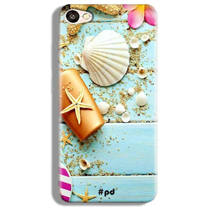 Vivo V5 Mobile Covers Cases Pearl Star Fish - Lowest Price - Paybydaddy.com