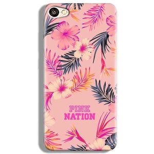 Vivo V5 Mobile Covers Cases Pink nation - Lowest Price - Paybydaddy.com