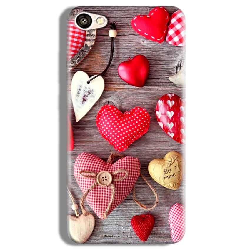 Vivo V5 Plus Mobile Covers Cases Hearts- Lowest Price - Paybydaddy.com