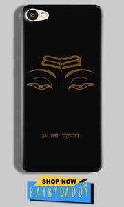 Vivo V5 Plus Mobile Covers Cases Om Namaha Gold Black - Lowest Price - Paybydaddy.com