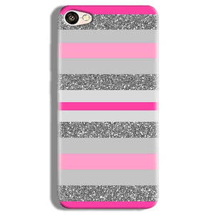 Vivo V5 Plus Mobile Covers Cases Pink colour pattern - Lowest Price - Paybydaddy.com