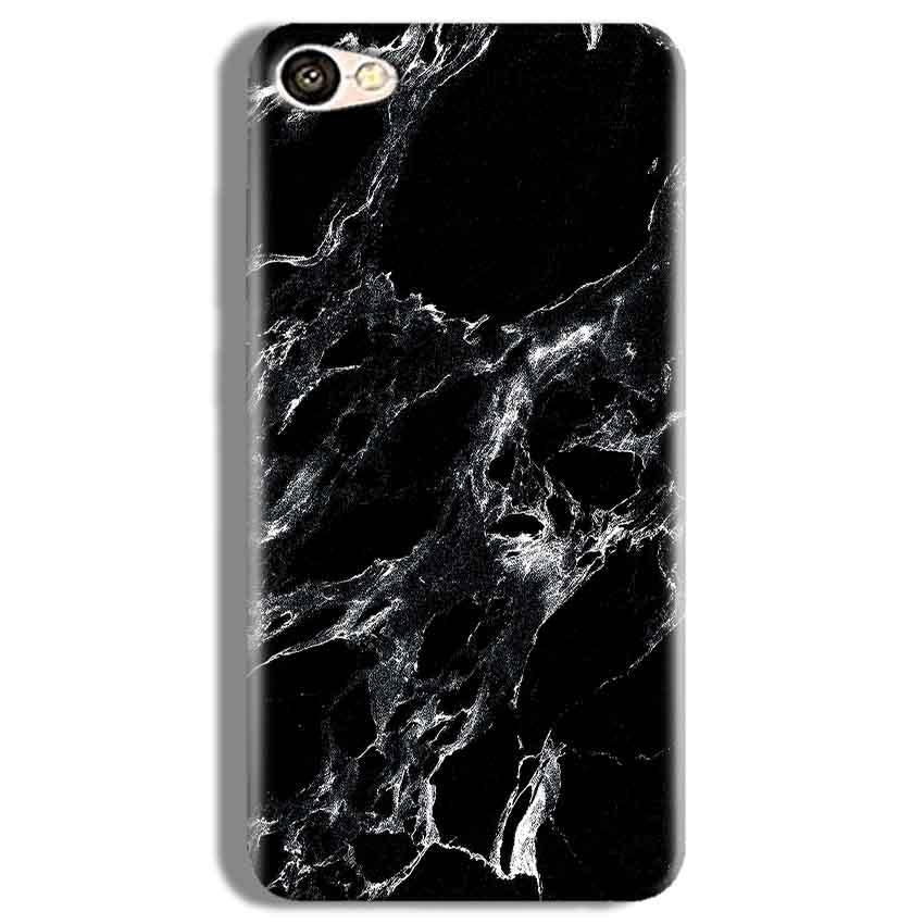 Vivo V5 Plus Mobile Covers Cases Pure Black Marble Texture - Lowest Price - Paybydaddy.com
