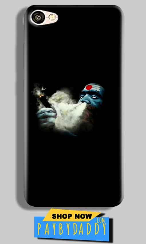 Vivo V5 Mobile Covers Cases Shiva Aghori Smoking - Lowest Price - Paybydaddy.com