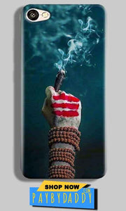Vivo V5 Mobile Covers Cases Shiva Hand With Clilam - Lowest Price - Paybydaddy.com
