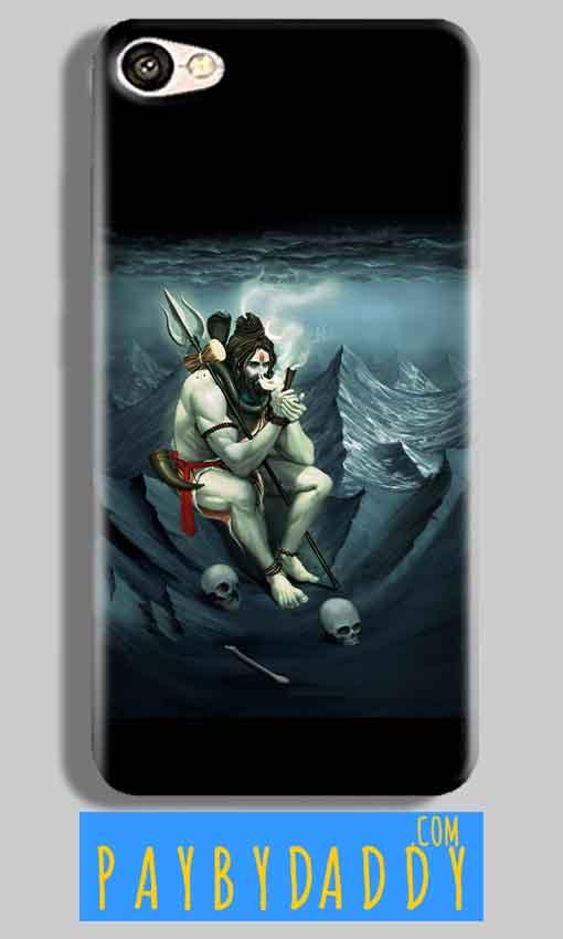 Vivo V5 Mobile Covers Cases Shiva Smoking - Lowest Price - Paybydaddy.com