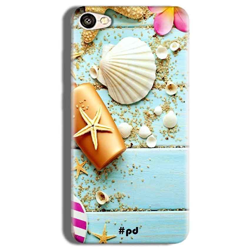 Vivo V5s Mobile Covers Cases Pearl Star Fish - Lowest Price - Paybydaddy.com