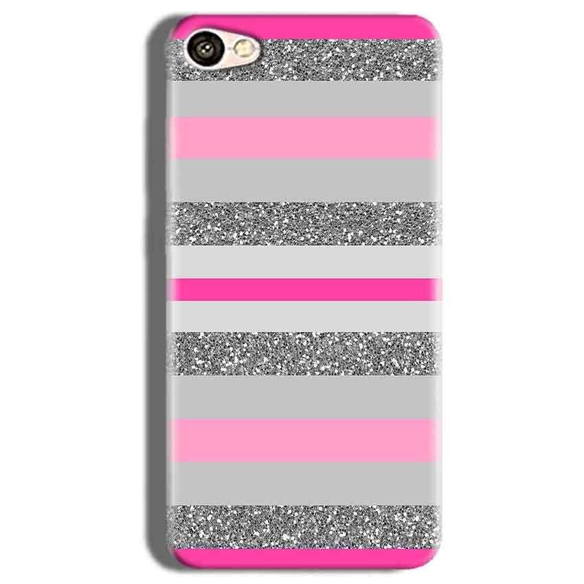 Vivo V5s Mobile Covers Cases Pink colour pattern - Lowest Price - Paybydaddy.com
