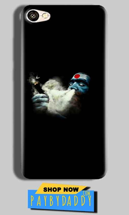 Vivo V5s Mobile Covers Cases Shiva Aghori Smoking - Lowest Price - Paybydaddy.com