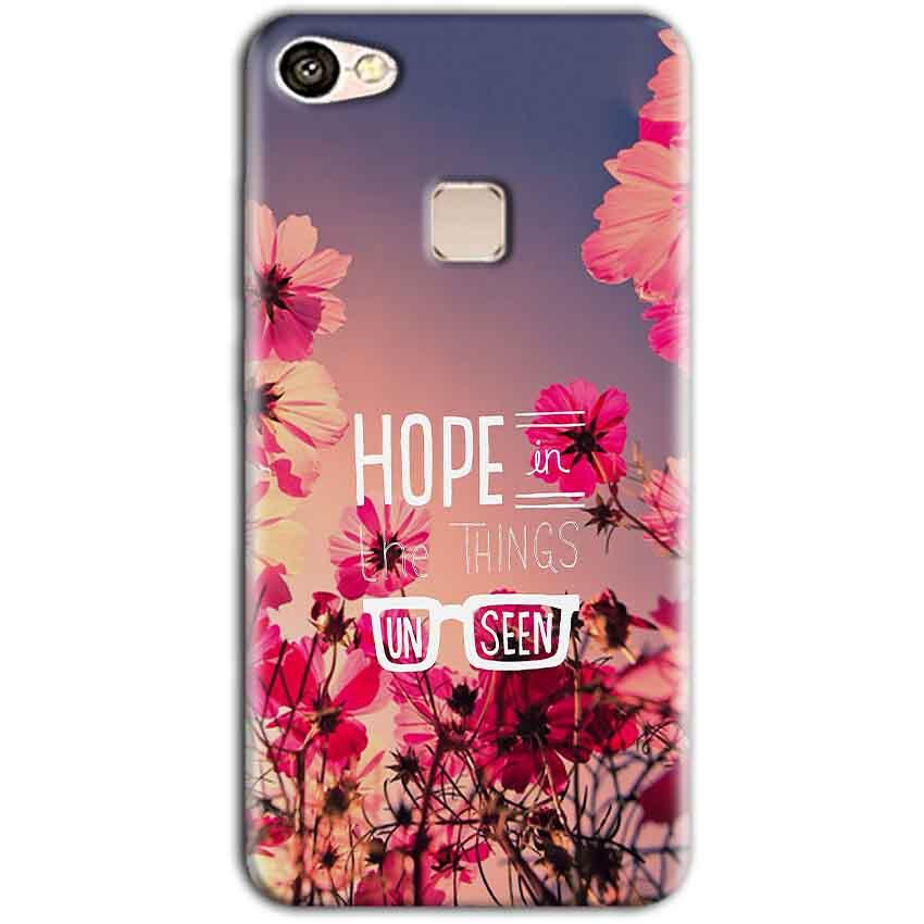 Vivo V7 Mobile Covers Cases Hope in the Things Unseen- Lowest Price - Paybydaddy.com