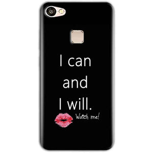 Vivo V7 Mobile Covers Cases i can and i will Lips - Lowest Price - Paybydaddy.com