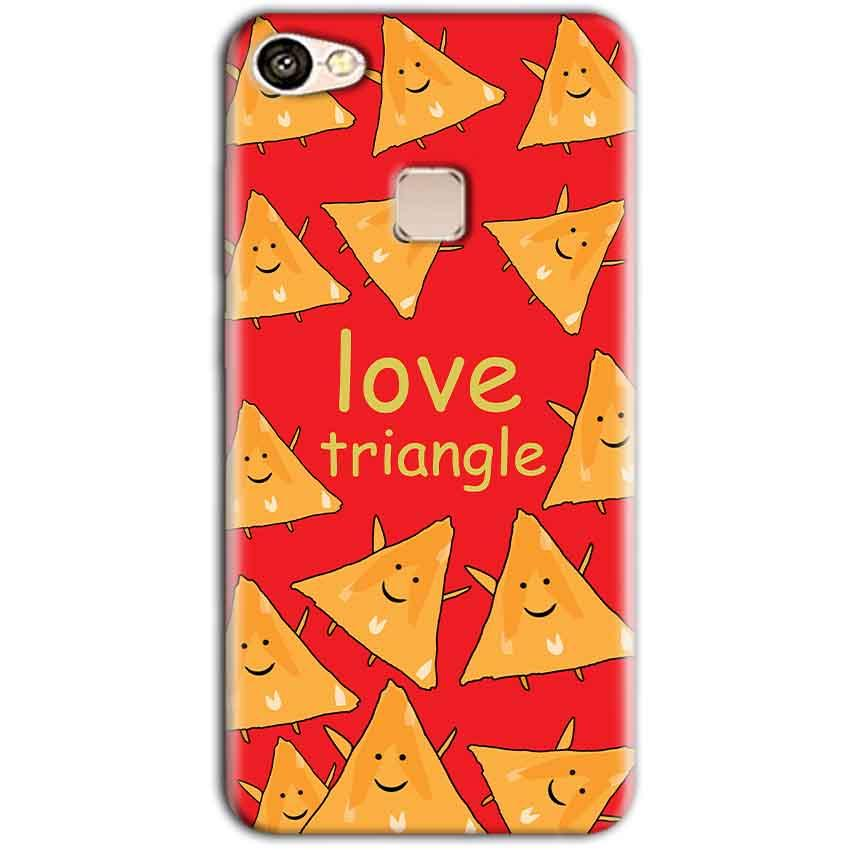 Vivo V7 Mobile Covers Cases Love Triangle - Lowest Price - Paybydaddy.com