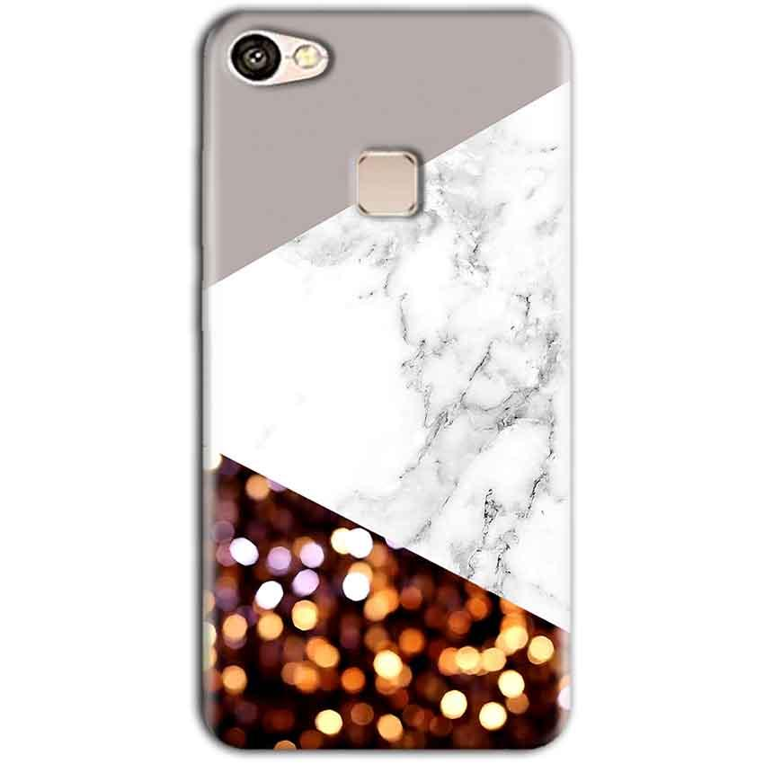 Vivo V7 Mobile Covers Cases MARBEL GLITTER - Lowest Price - Paybydaddy.com