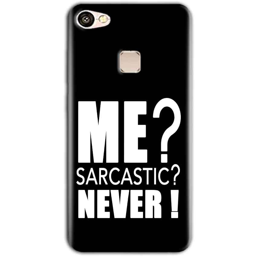 Vivo V7 Mobile Covers Cases Me sarcastic - Lowest Price - Paybydaddy.com